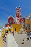 Πύργος του Castle Pena, Sintra, Πορτογαλία Στοκ φωτογραφία με δικαίωμα ελεύθερης χρήσης