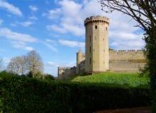 Πύργος του Castle Warwick στην Αγγλία στη Μεγάλη Βρετανία στοκ εικόνες