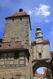 Πύργος του Marcus σε Rothenburg ob der Tauber Στοκ φωτογραφία με δικαίωμα ελεύθερης χρήσης