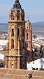 Πύργος του San Sebastian - της antequera-Ανδαλουσία-Ισπανίας Στοκ Φωτογραφίες