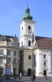 πύργος του Sibiu κουδουνιών Στοκ Εικόνα