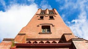 Πύργος τούβλου Στοκ φωτογραφία με δικαίωμα ελεύθερης χρήσης