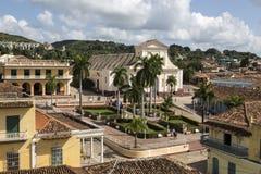πύργος Τρινιδάδ Υ plaza SAN δημάρχου iglesia της Κούβας de Francisco convento κουδουνιών Στοκ Εικόνες