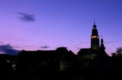 πύργος Τσεχιών πυργων κουδουνιών Στοκ Εικόνες