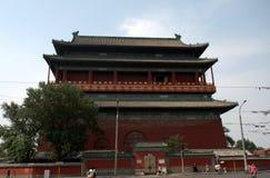 Πύργος τυμπάνων, Πεκίνο, Κίνα Στοκ Φωτογραφίες
