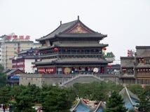 Πύργος τυμπάνων, Xian Κίνα Στοκ Εικόνες