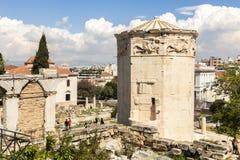 Πύργος των ανέμων, Αθήνα στοκ εικόνες με δικαίωμα ελεύθερης χρήσης