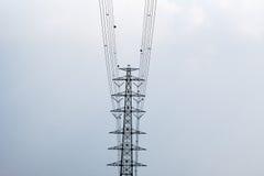 Πύργος υψηλής τάσης Στοκ φωτογραφία με δικαίωμα ελεύθερης χρήσης