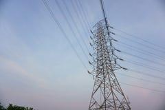 Πύργος υψηλής τάσης Στοκ Φωτογραφίες