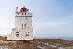 Πύργος φάρων της Ισλανδίας, Dyrholaey Στοκ Εικόνες