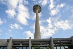 Πύργος Φρανκφούρτη Γερμανία TV στοκ φωτογραφία