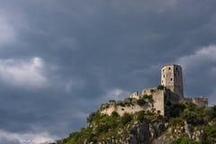 πύργος φρουρίων pocitelj Στοκ Εικόνες