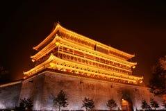 πύργος ΧΙ τυμπάνων της Κίνα&sigma Στοκ φωτογραφία με δικαίωμα ελεύθερης χρήσης