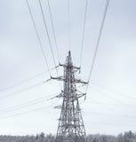Πύργος δύναμης στη χειμερινή ημέρα Στοκ φωτογραφία με δικαίωμα ελεύθερης χρήσης