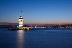 πύργος 2 κοριτσιών Στοκ εικόνα με δικαίωμα ελεύθερης χρήσης