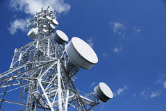πύργος 2 τηλεπικοινωνιών Στοκ Φωτογραφία
