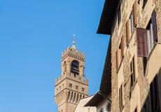 Πύργος Arnolfo, Φλωρεντία, Τοσκάνη, Ιταλία Στοκ Εικόνα