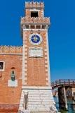 Πύργος Arsenale στη Βενετία, Ιταλία Στοκ φωτογραφίες με δικαίωμα ελεύθερης χρήσης