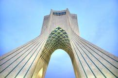 Πύργος Azadi που βρίσκεται Ιράν στην πλατεία Azadi, στην Τεχεράνη, Στοκ Εικόνα