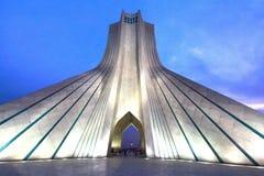Πύργος Azadi που βρίσκεται Ιράν στην πλατεία Azadi, στην Τεχεράνη, Στοκ Εικόνες