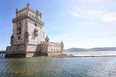 Πύργος Belén - της Λισσαβώνας, Πορτογαλία Στοκ φωτογραφία με δικαίωμα ελεύθερης χρήσης