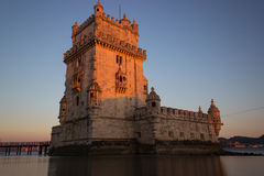 Πύργος Belém Στοκ φωτογραφία με δικαίωμα ελεύθερης χρήσης