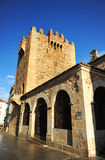 Πύργος Bujaco, Caceres, Εστρεμαδούρα, Ισπανία στοκ εικόνες