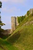 Πύργος Carisbrooke Castle στο Νιούπορτ, Isle of Wight, Αγγλία Στοκ φωτογραφία με δικαίωμα ελεύθερης χρήσης