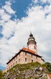 Πύργος Cesky Kurmlov Castle Στοκ φωτογραφία με δικαίωμα ελεύθερης χρήσης