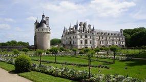 Πύργος Chenonceau στην κοιλάδα της Loire Στοκ εικόνα με δικαίωμα ελεύθερης χρήσης