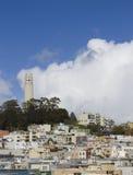 Πύργος Coit Στοκ Εικόνες