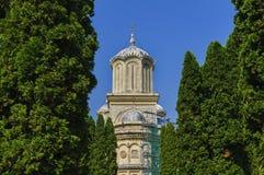 Πύργος Curtea de Arges Monastery Στοκ Εικόνα