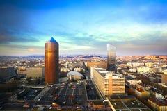 Πύργος Dieu Incity και μερών στην πόλη της Λυών, Γαλλία Στοκ φωτογραφία με δικαίωμα ελεύθερης χρήσης
