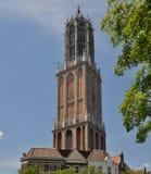 Πύργος DOM, Κάτω Χώρες Στοκ φωτογραφία με δικαίωμα ελεύθερης χρήσης