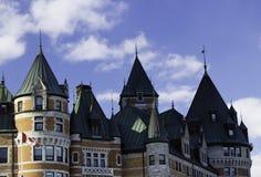 Πύργος Frontenac στην πόλη του Κεμπέκ Στοκ φωτογραφία με δικαίωμα ελεύθερης χρήσης