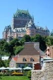 Πύργος Frontenac στο Κεμπέκ, Καναδάς Στοκ εικόνα με δικαίωμα ελεύθερης χρήσης