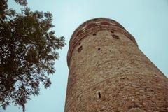 Πύργος Galata, Ιστανμπούλ, Τουρκία Στοκ φωτογραφία με δικαίωμα ελεύθερης χρήσης