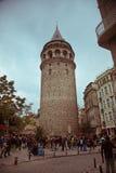 Πύργος Galata, Ιστανμπούλ, Τουρκία Στοκ Εικόνα