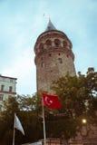 Πύργος Galata, Ιστανμπούλ, Τουρκία Στοκ φωτογραφίες με δικαίωμα ελεύθερης χρήσης