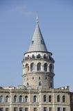 Πύργος Galata στην περιοχή Galata, πόλη της Ιστανμπούλ, Τουρκία Στοκ Εικόνες
