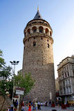 πύργος galata Στοκ Φωτογραφία