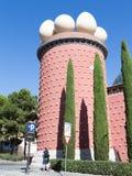 Πύργος Galatea στο θέατρο-μουσείο του Salvador Dali Στοκ εικόνα με δικαίωμα ελεύθερης χρήσης