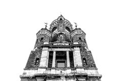 Πύργος Gardos ή πύργος χιλιετίας, επίσης γνωστός ως Kula Sibinjanin στοκ φωτογραφίες με δικαίωμα ελεύθερης χρήσης