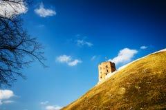 Πύργος Gediminas Στοκ φωτογραφία με δικαίωμα ελεύθερης χρήσης