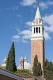 πύργος George Άγιος εκκλησιών κουδουνιών Στοκ εικόνα με δικαίωμα ελεύθερης χρήσης