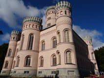Πύργος Granitz κυνηγιού ύφους αναγέννησης Στοκ εικόνες με δικαίωμα ελεύθερης χρήσης
