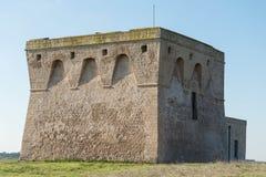 Πύργος Guaceto Στοκ φωτογραφίες με δικαίωμα ελεύθερης χρήσης