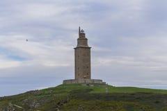 Πύργος Hercules Στοκ φωτογραφία με δικαίωμα ελεύθερης χρήσης