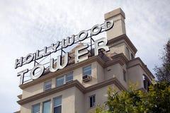 Πύργος Hollywood στοκ εικόνες