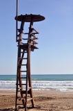 Πύργος Lifeguard Στοκ εικόνες με δικαίωμα ελεύθερης χρήσης
